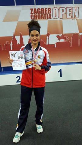 Rosanna Simón logra la medalla de Plata en el Open Internacional de Taekwondo de Croacia.