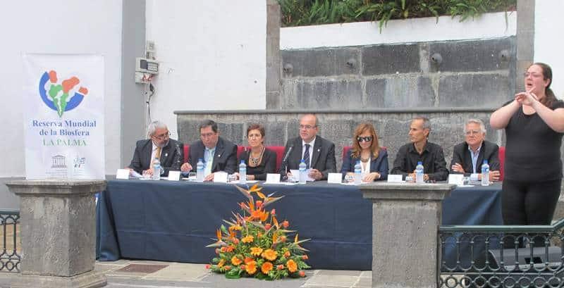 XIII Aniversario de la Declaración de toda la isla de La Palma como Reserva Mundial de la Biosfera La Palma.