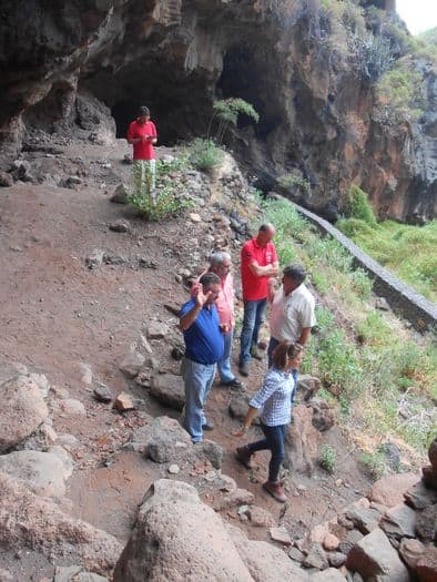 El Cabildo protege los vestigios prehispánicos de El Tendal y su entorno