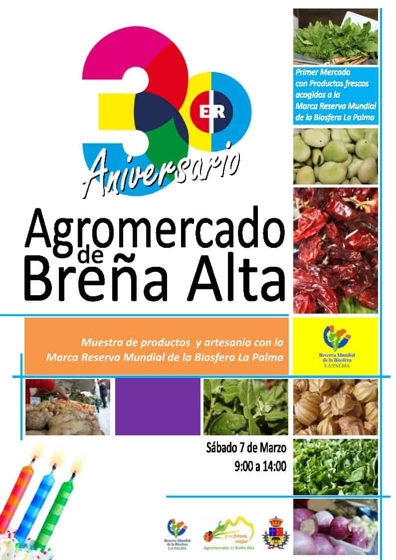 Tercer Aniversario Agromercado Breña Alta