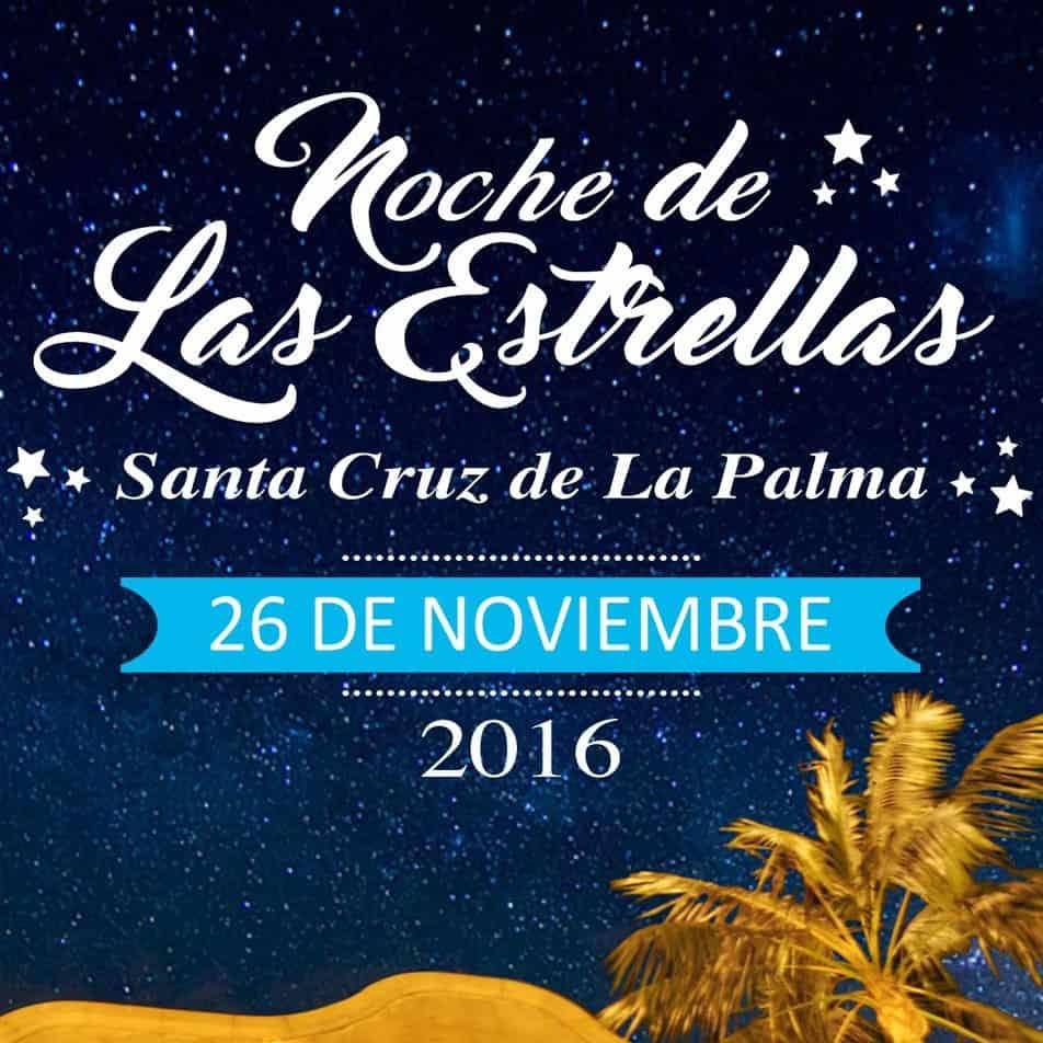 Gran ambiente en las calles de Santa Cruz en la Noche de las estrellas