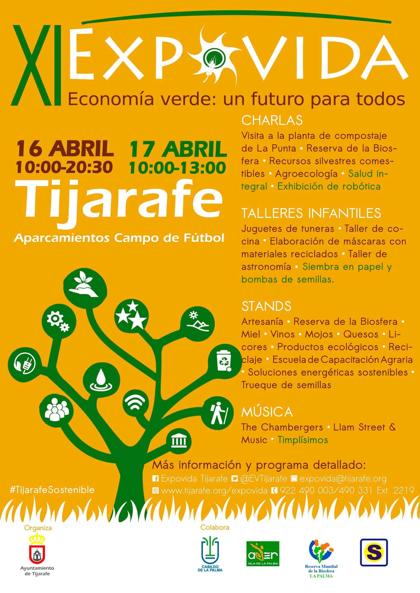 Este fin de semana la marca Reserva Mundial de la Biosfera la Palma participará en Expovida (Tijarafe).