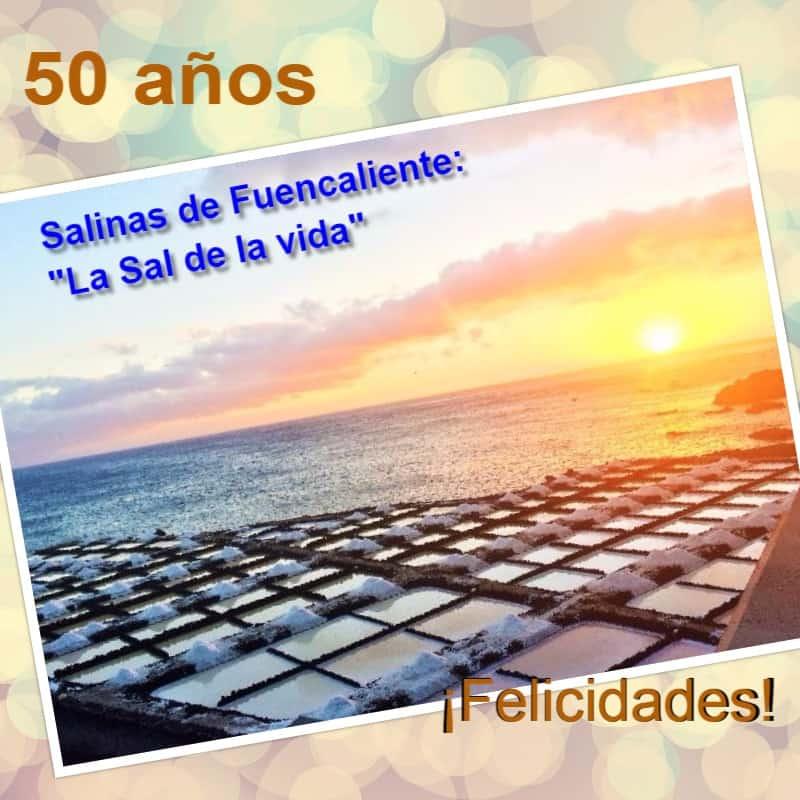 Las Salinas cumplen 50 años