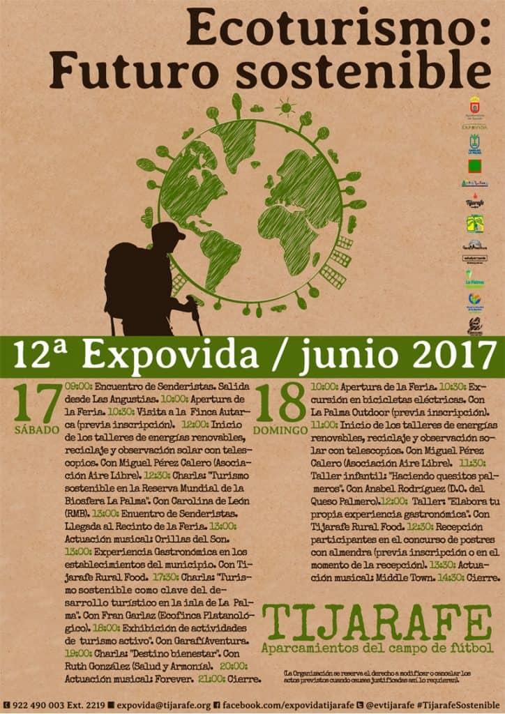 La Reserva Mundial de la Biosfera La Palma en ExpoVida 2017