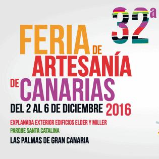 Artesanos de la Marca Reserva Mundial de la Biosfera La Palma en La Feria de Artesanía de Canarias 2016