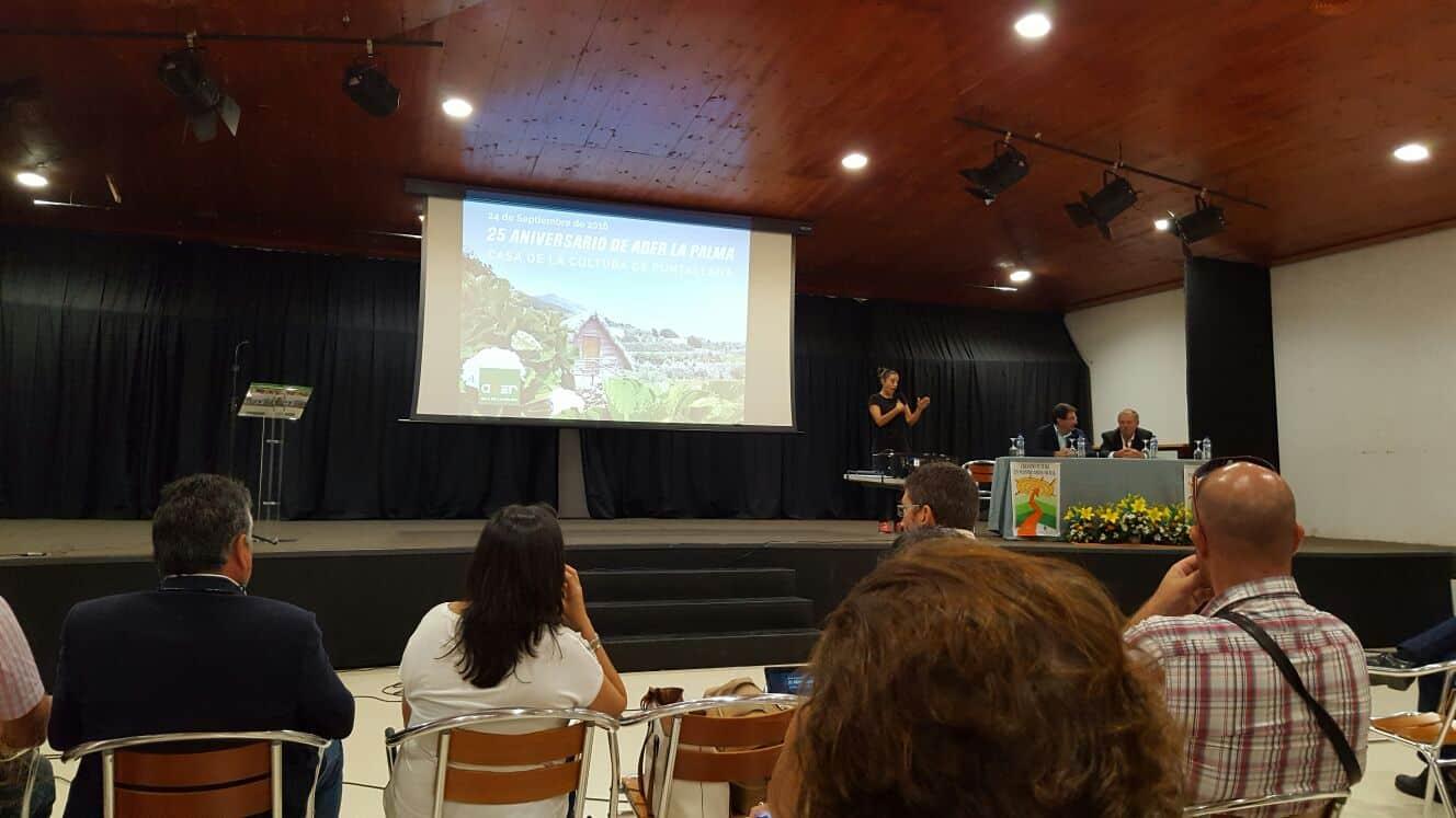 25 aniversario de la Asociación para el Desarrollo Rural de la Isla de La Palma, ADER.