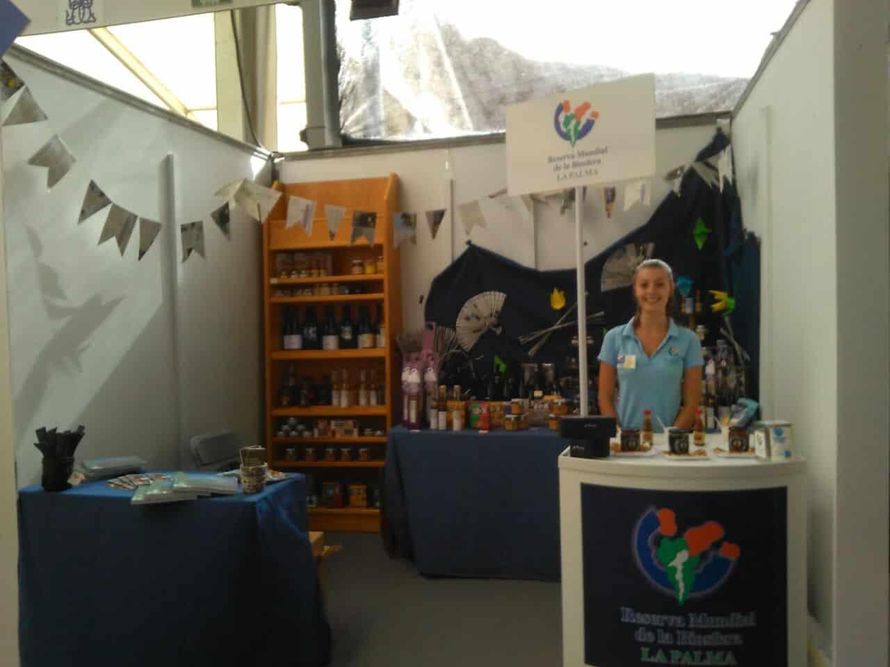 La Marca Reserva Mundial de la Biosfera La Palma participa en la 28ª Feria Insular de Artesanía