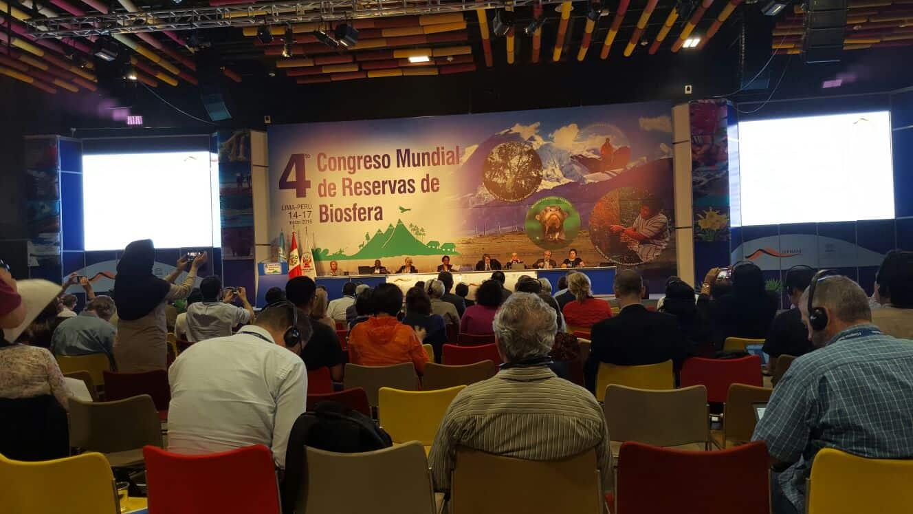 La Reserva Mundial de la Biosfera La Palma participó en el IV Congreso Mundial de Reservas de la Biosfera celebrado en Lima entre el 14 y el 17 de marzo.