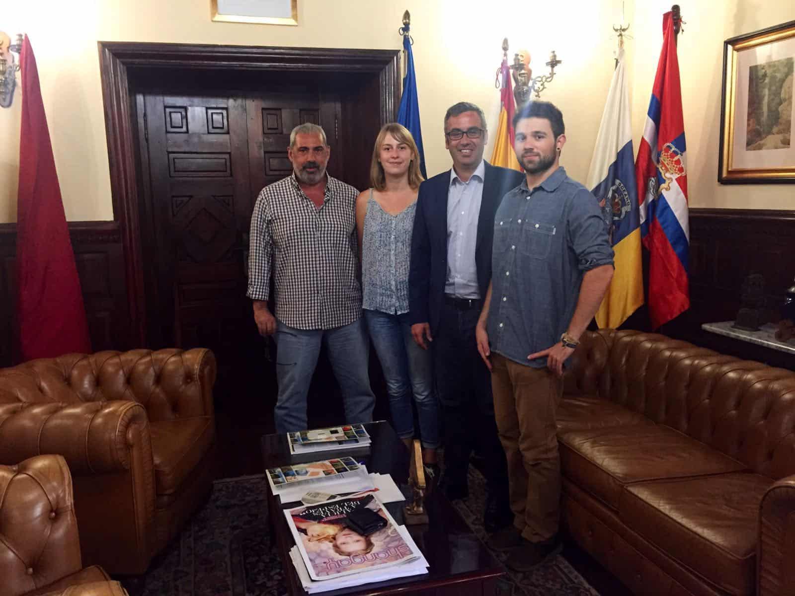 El Ayuntamiento de Santa Cruz de La Palma y la Reserva de la Biosfera acuerdan favorecer prácticas universitarias en el municipio