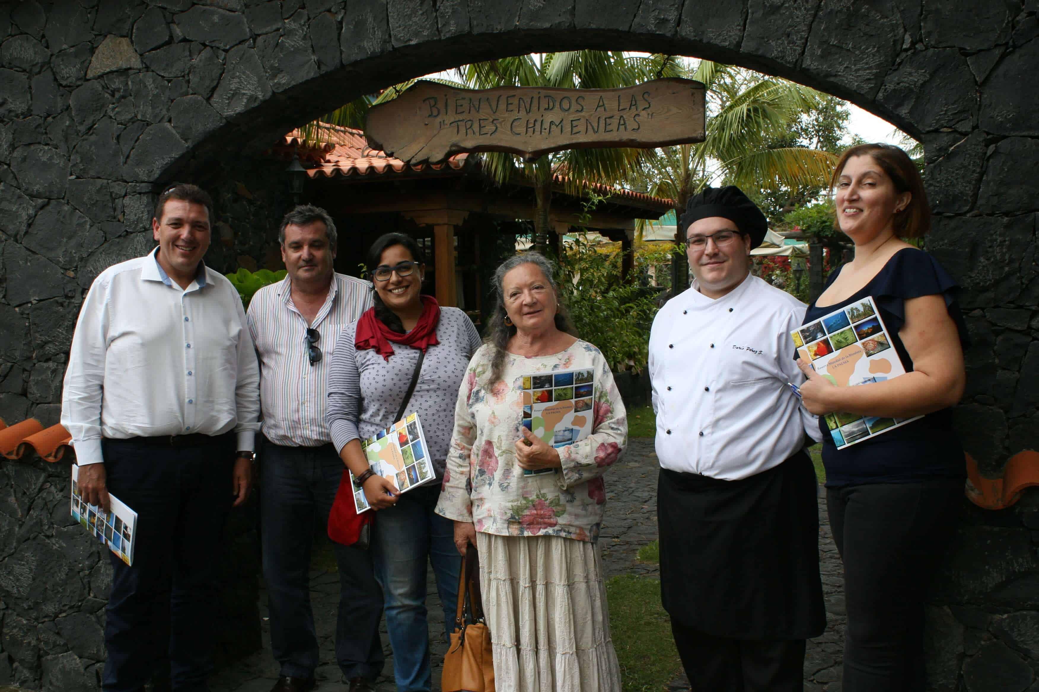 Serafín Romero Caballero y Darío Pérez Sánchez ganadores del Primer y Segundo premio del Concurso de Recetas de la Biosfera 2016.