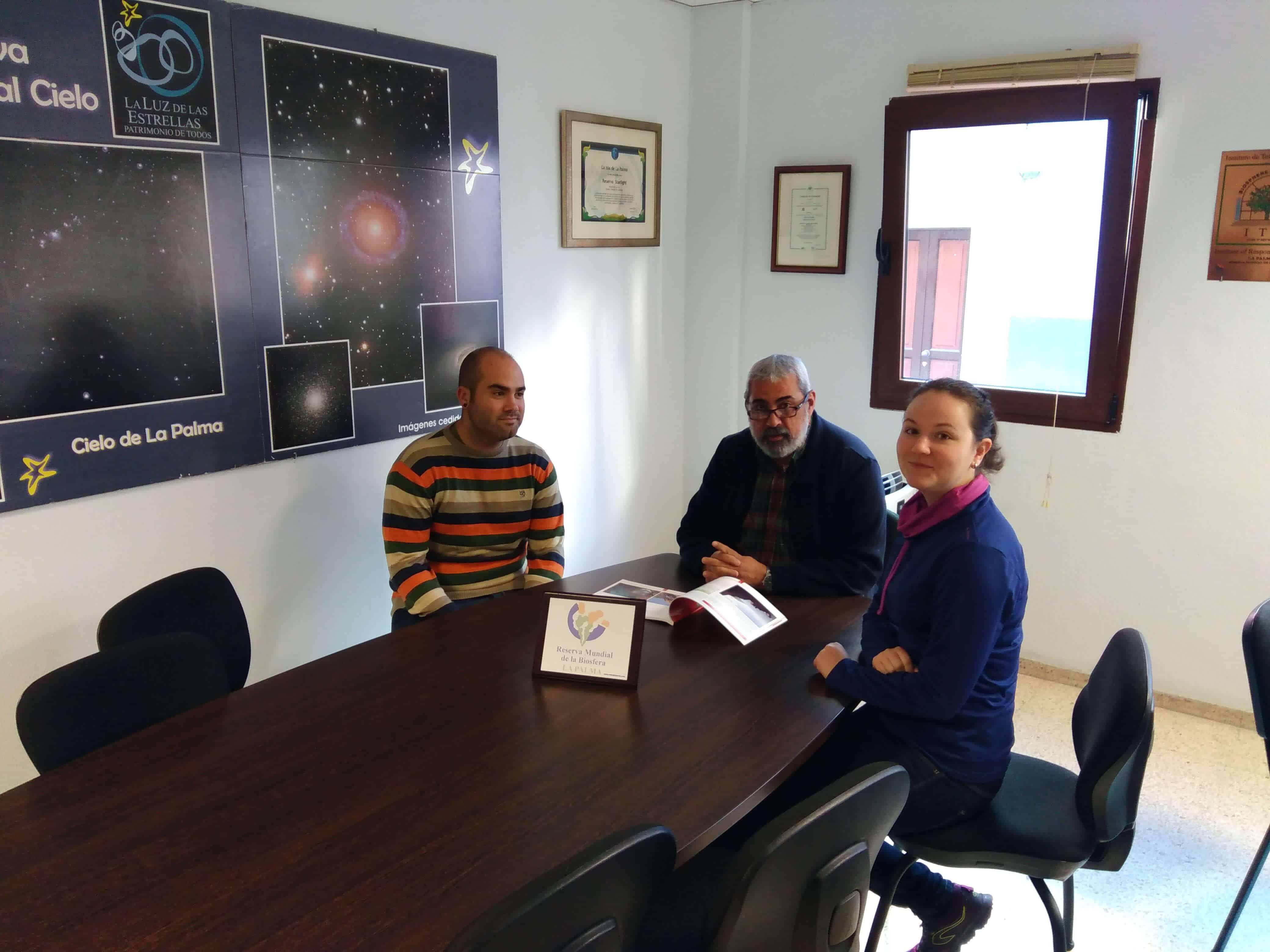 Nuevos Alumnos en Prácticas en la Reserva Mundial de la Biosfera La Palma
