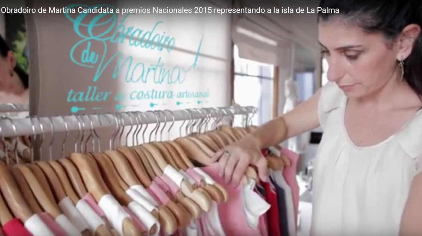 """Martina lleva la """"Marca Reserva Mundial de la Biosfera La Palma"""" a Madrid"""