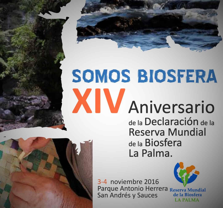 La Reserva Mundial de la Biosfera La Palma celebra el XIV Aniversario de su declaración por parte de la Unesco