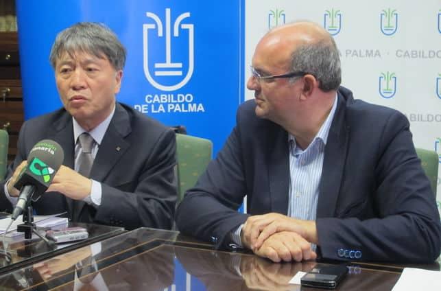 """Han Quli: """"El compromiso de La Palma con la biodiversidad es mayor que en otras Reservas de la Biosfera"""""""