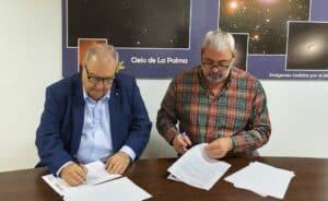 La Reserva Mundial de la Biosfera La Palma y la empresa Áridos El Riachuelo firman un acuerdo de Custodia del Territorio en el marco de la Iniciativa Europea Interreg