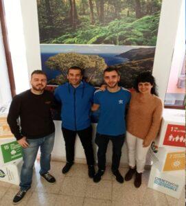 Dos nuevos alumnos realizan sus prácticas curriculares en la Reserva Mundial de la Biosfera La Palma