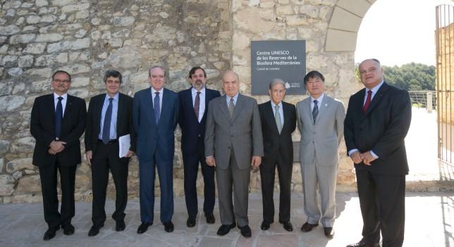 La red de Reservas de la Biosfera Mediterráneas inicia su actividad en el castillo de Castellet