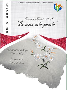 """Exposición """"La mesa está puesta"""" en Villa de Mazo."""