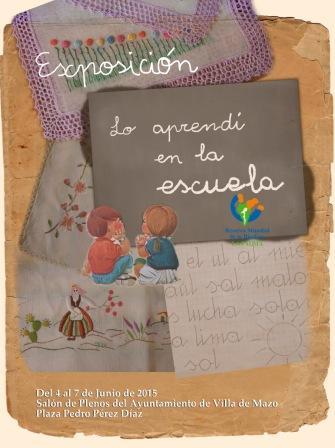 """Exposición """"Lo aprendí en la Escuela"""""""