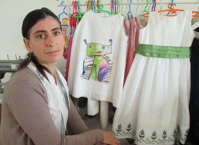 Una de las modistas adherida a la Marca RMB La Palma: Martina, candidata para los Premios Nacionales de Artesanía