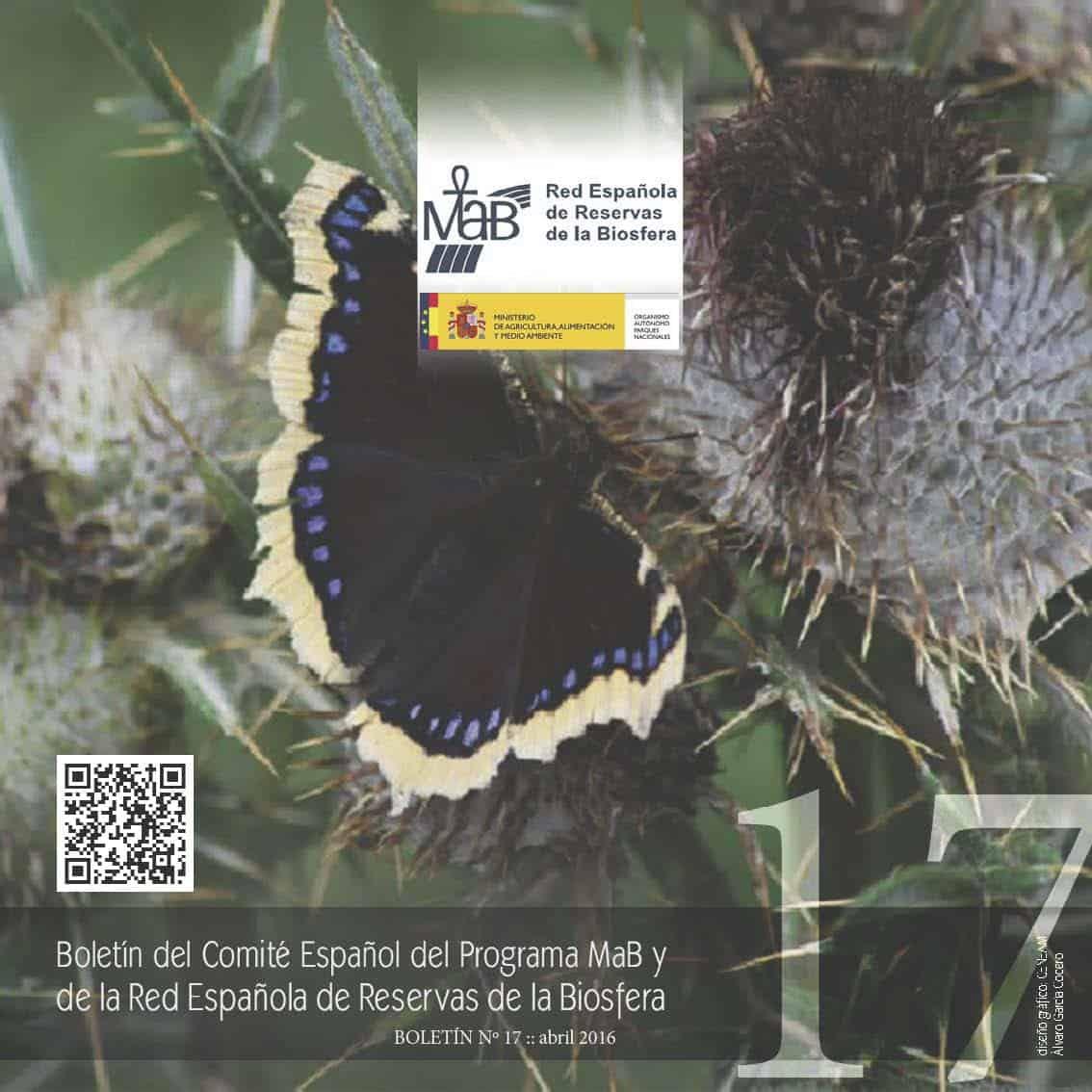 Ya está disponible el último número del Boletín del Comité Español del Programa MaB y de la Red de Reservas de Biosfera Españolas