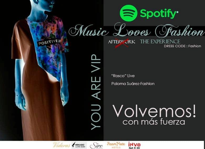 Paloma Suárez en la Music Love Fashion de Spotify, en directo hoy para más de 9 millones de personas