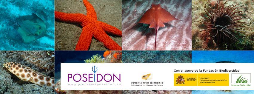 La Reserva Mundial de la Biosfera La PALMA colabora con el Programa Poseidón, para la participación ciudadana en la conservación de la biodiversidad marina.