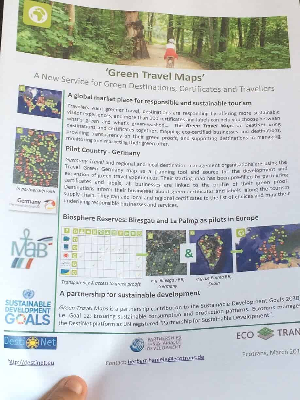 """""""La Palma Tourism"""" en la herramienta elegida por el Consejo Nacional de Turismo Alemán para promover los viajes sostenibles"""