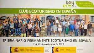 La Reserva Mundial de la Biosfera La Palma participa en el 8º Seminario del Club Ecoturismo en España