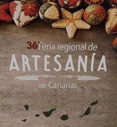 """Artesanas con la Marca: """"La Palma Reserva Mundial de la Biosfera"""" participan en la 36 Feria Regional de Artesanía de Canarias."""
