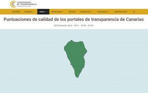 La Fundación Canaria Reserva Mundial de la Biosfera LA PALMA calificada de excelente en su nivel de transparencia.