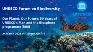 Nuestro Planeta, nuestro futuro, 50 años del Programa MaB.