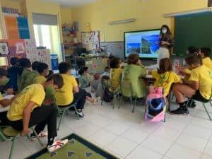 La Reserva de la Biosfera difunde la Agenda 2030 y los Objetivos de Desarrollo Sostenible a los estudiantes.