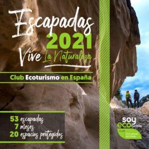 La Isla de la Palma presente en el Catálogo Nacional de Escapadas de Ecoturismo 2021.
